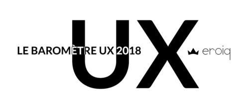 le baromètre ux 2018